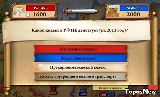 Какой кодекс в РФ НЕ действует (на 2013 год)?