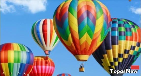 Воздушный шар, небо, полёт, высота