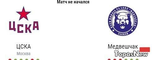 ЦСКА Медвешчак 25.10.2016 смотреть онлайн хоккей