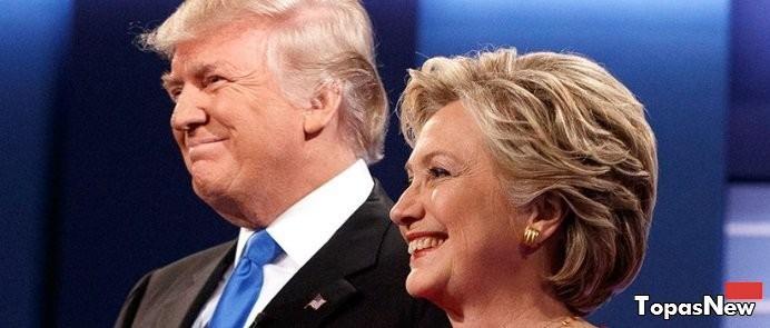 Выборы в США 2016 президента - Клинтон или Трамп, последние новости