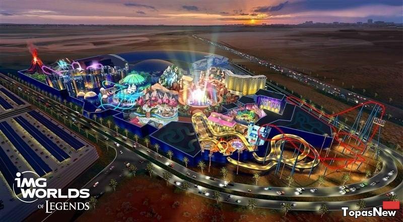 Ubisoft откроет огромный тематический парк в Дубае
