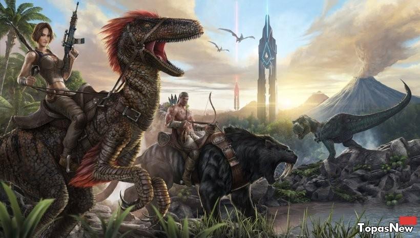 Консольные версии ARK: Survival Evolved получают новых динозавров и существ