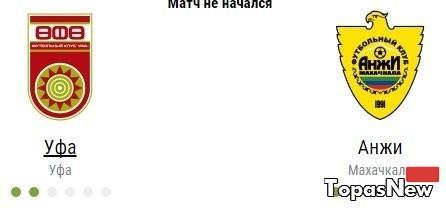 Уфа Анжи 01.03.2017 смотреть онлайн трансляция