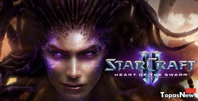 StarCraft 2 Heart of the Swarm скачать с торрента