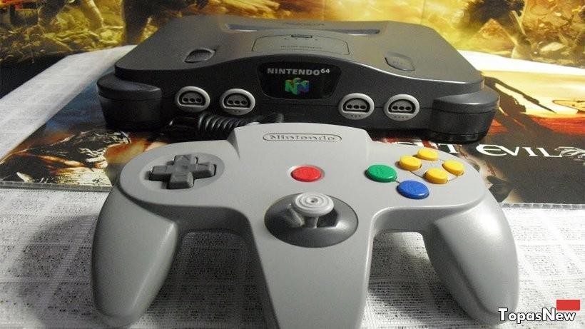 Nintendo 64 (1996) - причины падения приставки и победы Sony