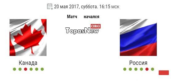 Канада Россия 1/2 20.05.17 смотреть онлайн трансляцию хоккей
