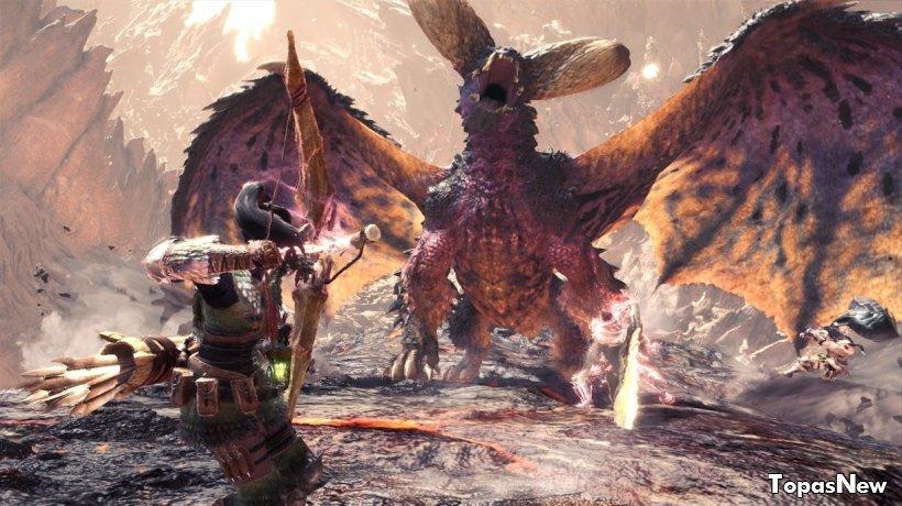 Названа лучшая игра поколения: отзывы критиков о Monster Hunter: World