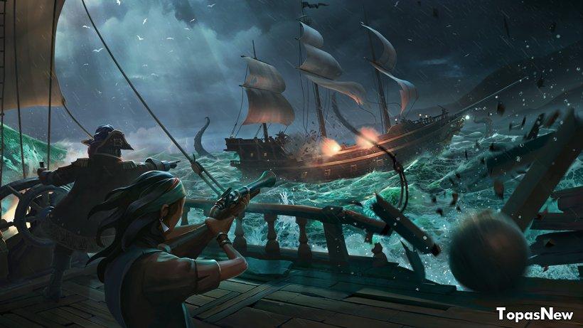 Sea of Thieves: новое видео от разработчиков