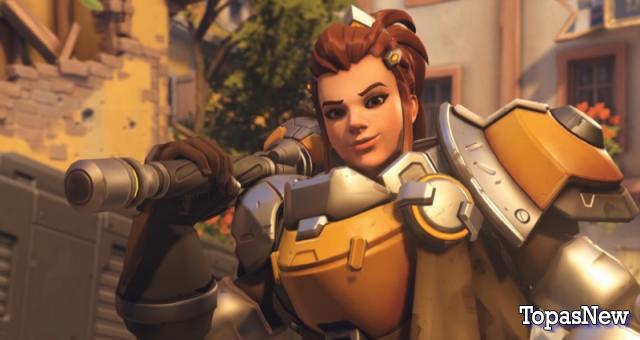 Brigitte идеальный персонаж для Лиги Overwatch