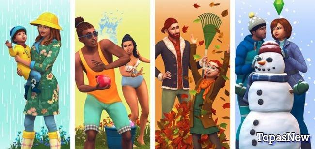 Стала известна дата выхода обновления For Seasons для The Sims 4