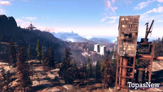 Fallout 76: области, города и ориентиры - все, что нам известно