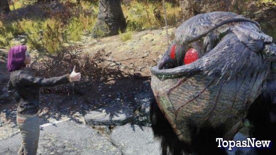 Mothman в Fallout 76: друг или враг?