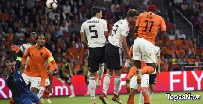 Германия Нидерланды 19.11 18 трансляция онлайн