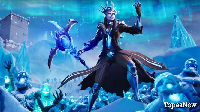 Fortnite's Ice Storm: огромные изменения на карте