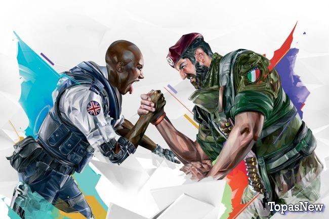 Событие pick/ban в Rainbow Six Siege - отличный конкурентный режим