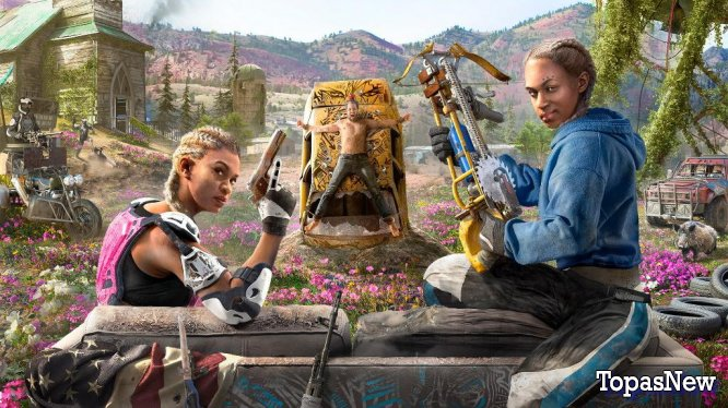 Обзор Far Cry New Dawn