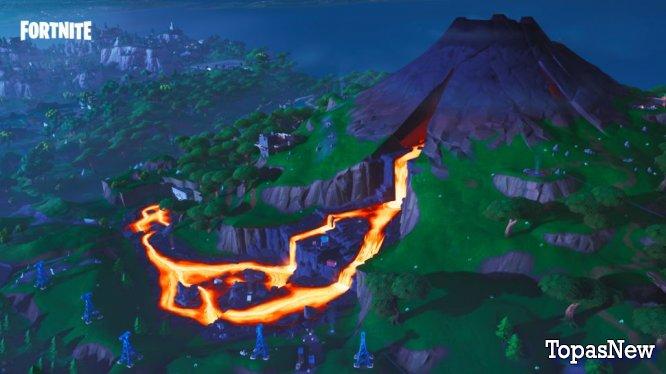 Следующий ограниченный по времени режим Fortnite - The Floor is Lava