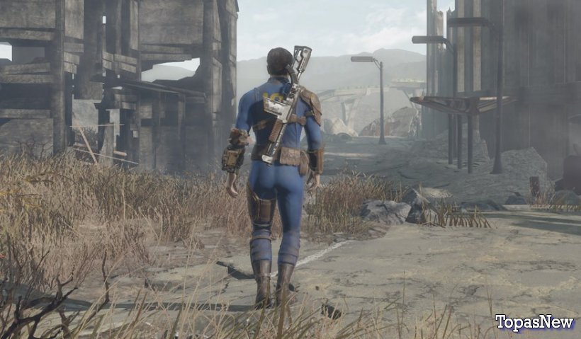 Новый трейлер Fallout: Capital Wasteland