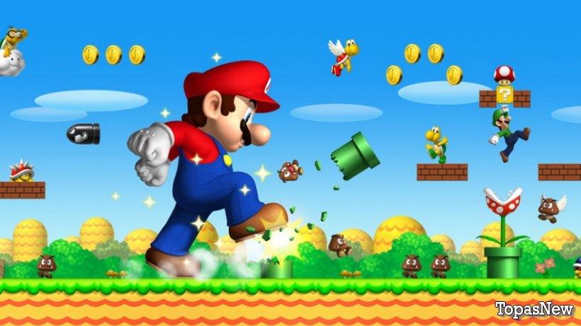 Super Mario Bros: королевская битва для сотни игроков