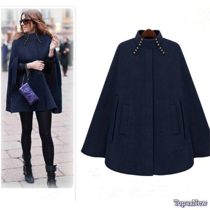 Как выбрать модное пальто: кейп или вечернее