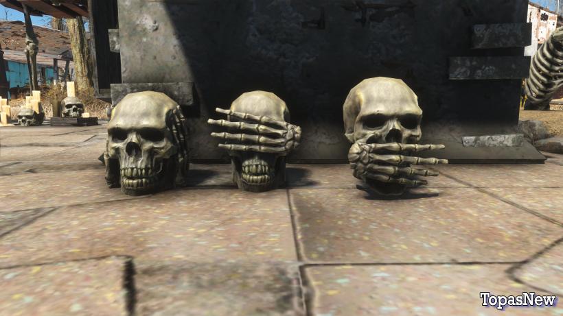 Fallout 4: лучший мод, посвященный Хеллоуину