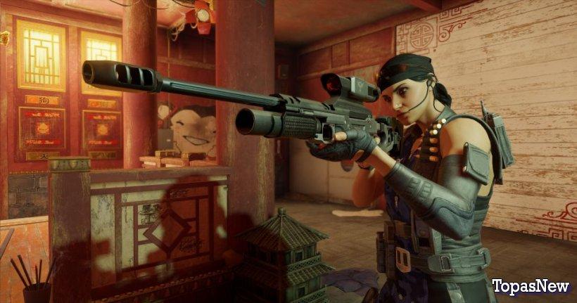 Rainbow Six Siege Shifting Tides: самое смертоносное оружие в игре
