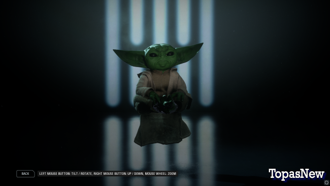 Моддер добавит Baby Yoda в Star Wars Battlefront 2